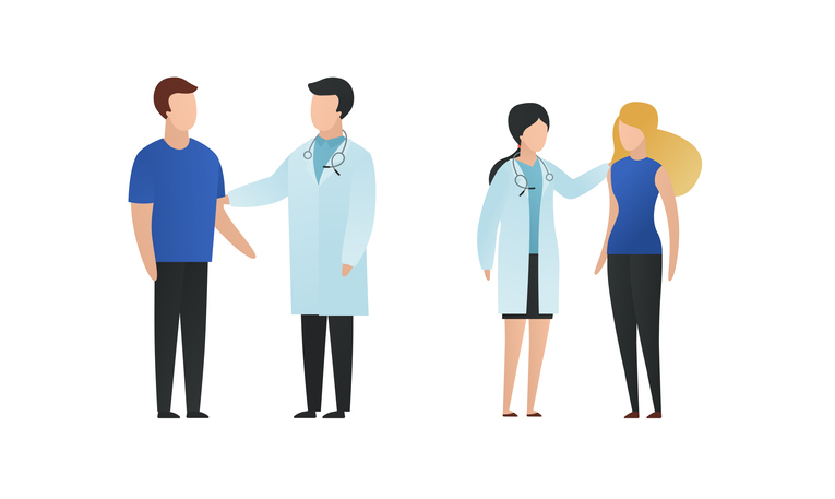 animated-design-patients-meeting-doctors